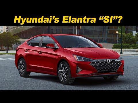 2019 Hyundai Elantra Sport  The Sporty Value Alternative