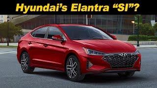2019 / 2020 Hyundai Elantra Sport   The Sporty Value Alternative