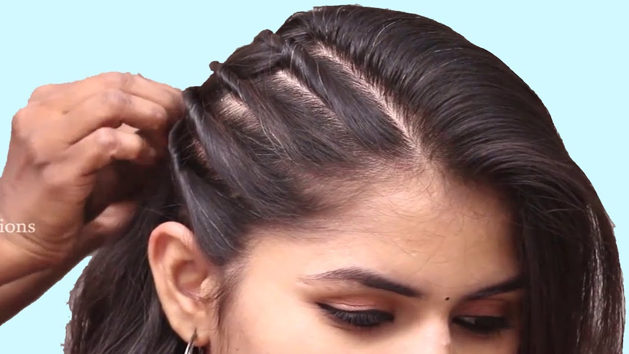 Hair Style Girl Image: Unseen Party Hairstyle 2019 For Girls
