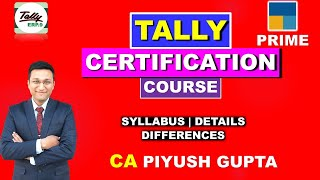 01 Tally Prime Course in Hindi Online, Difference Between Tally ERP 9 and Tally Prime Syllabus