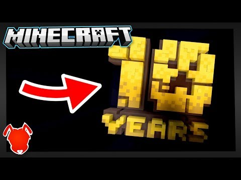 Today, Minecraft is 10 Years Old...