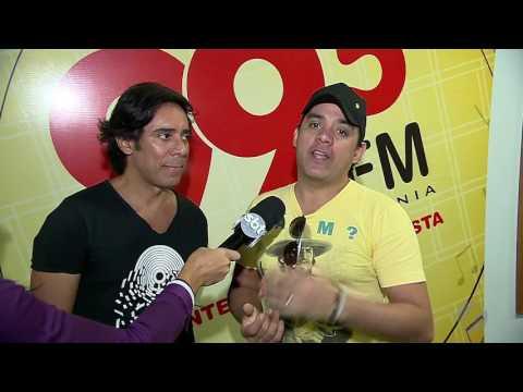 JSD (11/05/17) - Guilherme e Santiago visitam a Rádio 99,5 FM
