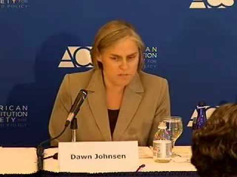 Dawn Johnsen on the role of the Office of Legal Counsel