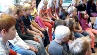 Ibo an der Grundschule Sandhorst 2012