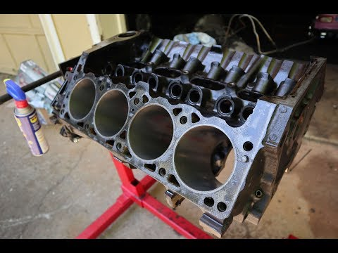 Cleaning Piston/Engine and Honing cylinder walls (5.2 Magnum)