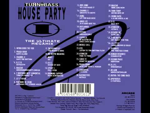 Turn up the bass house party 2 with tracklist youtube for House music tracklist