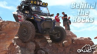 Behind the Rocks during Rally on the Rocks 2021 Moab