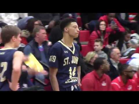 Houston King, Toledo St. Johns  Junior Season Highlights