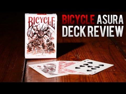 Deck Review - Bicycle Asura Deck Playing Cards [RED]