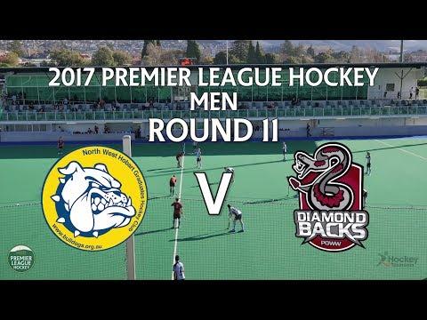 North West Grads v Diamondbacks   Men Round 11   Premier League Hockey 2017