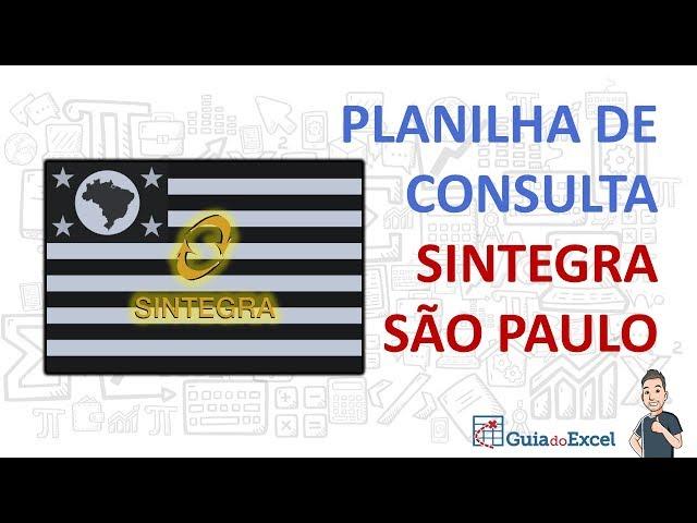 [Excel] Consulta Sintegra de São Paulo automática