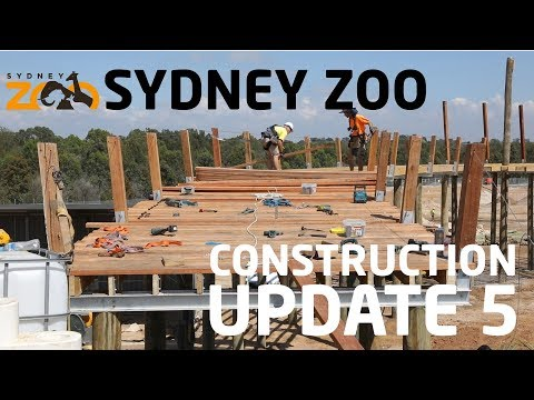 Sydney Zoo Construction Update December 2018