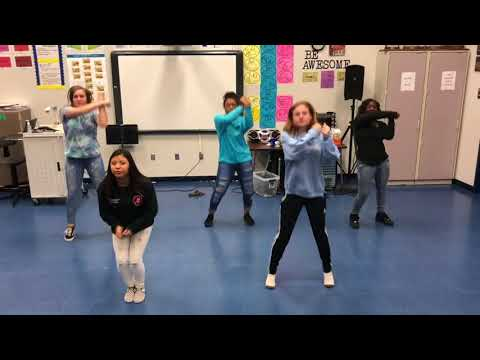 Repeat Gameday - band dance (Land of 1000 Dances) by