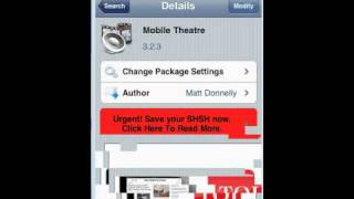 Repeat youtube video aHOW TO GET MOBILE THEATRE!!! ON CYDIA