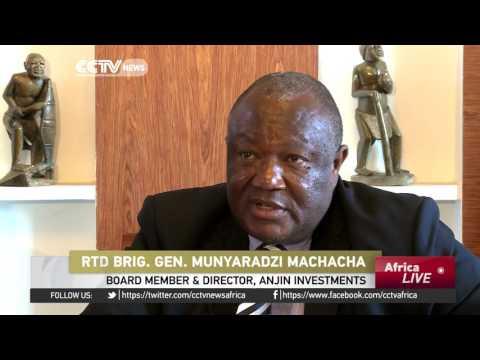 Zimbabwe diamond mining firm Anjin Investments denies smuggling diamonds to China