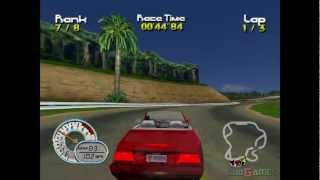 Roadsters - Gameplay Dreamcast HD 720P