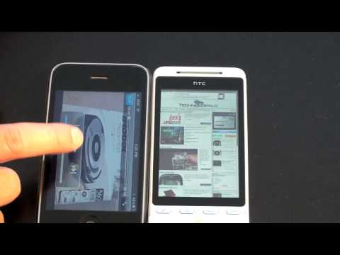 iPhone 3GS vs. HTC Hero