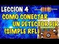 Download Conectar un detector movimiento PIR a una alarma