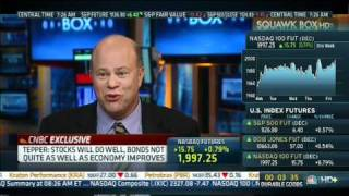 CNBC, 09/24/10, Hedge Fund Great, David Tepper, stocks will go up (3 of 4)