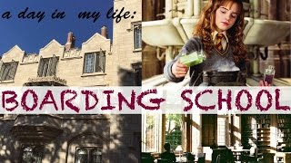 a day in my life boarding school