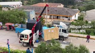 Así fue la entrega de la nueva planta de oxígeno al Hospital de Huari
