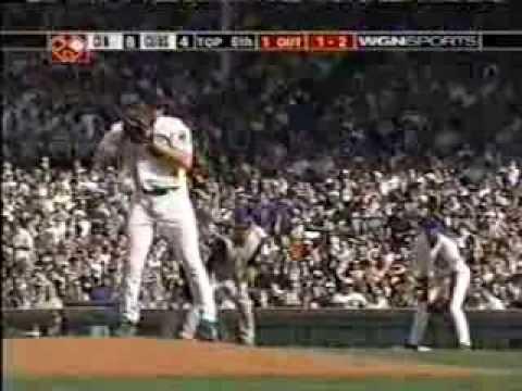 Cubs 11, Reds 10, WGN-TV - April 16, 2004 PART ONE