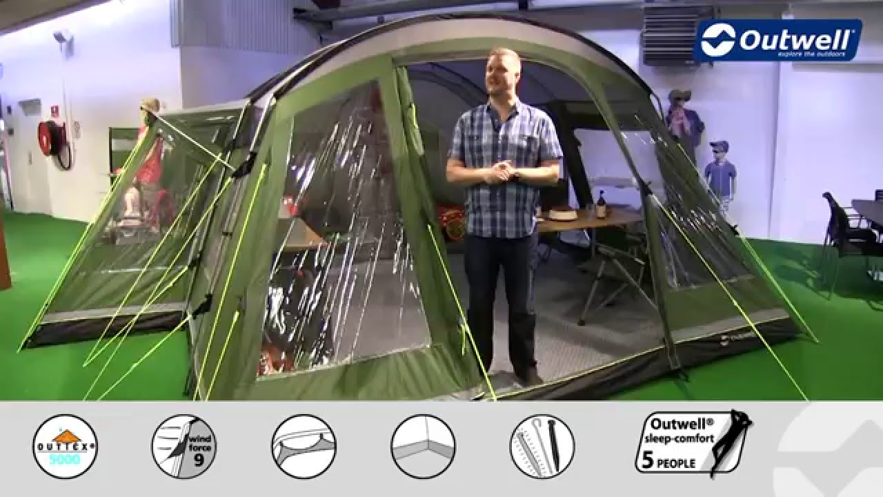 Outwell Montana 6 Tent | Innovative Family C&ing & Outwell Montana 6 Tent | Innovative Family Camping - YouTube