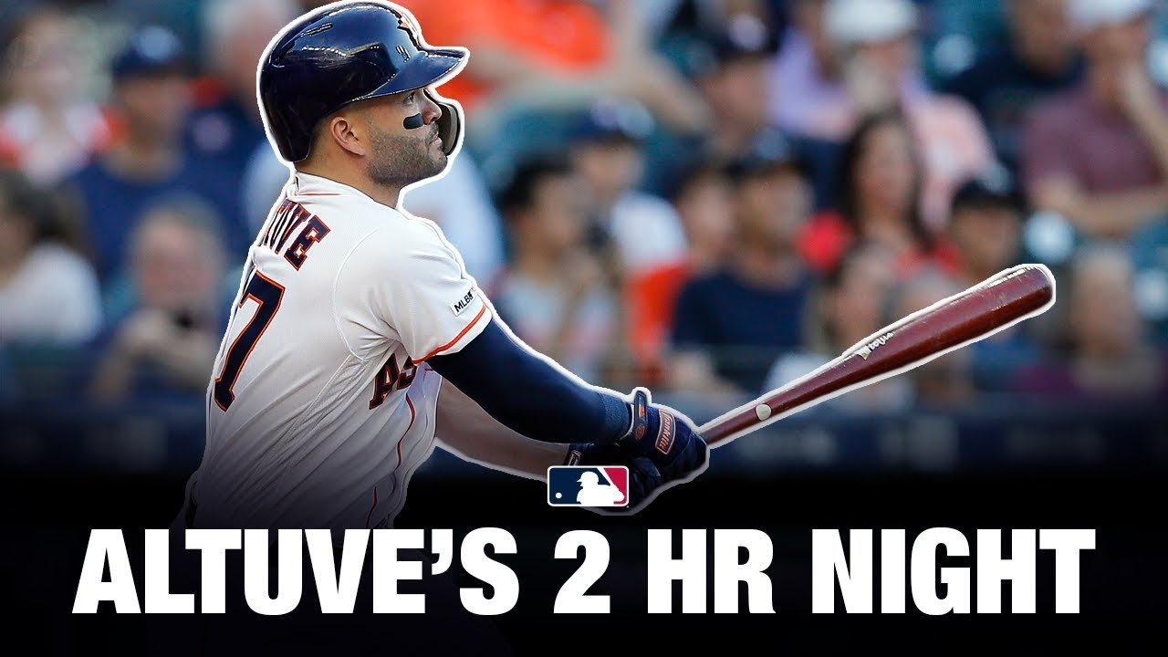 Altuve's big night (2 HRs) helps 'Stros sweep Yanks