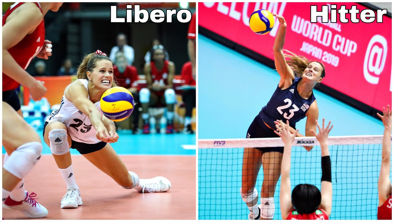 Libero and Outside Hitter | Kelsey Robinson | Best Volleyball Actions (HD)