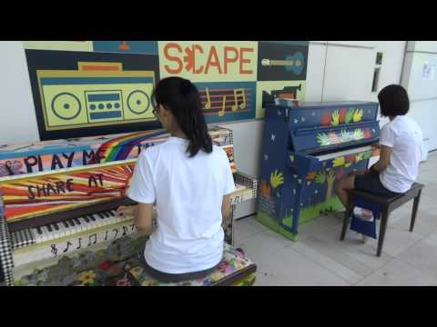 play me I'm Yours in Singapore at Scape