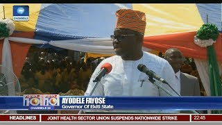 Fayose, Akpabio, Wike Commission Roads In Rivers Communities