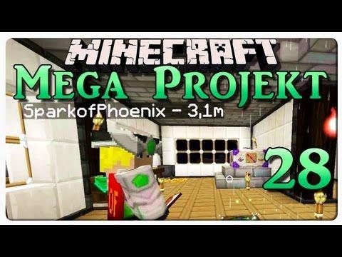 Minecraft MEGA PROJEKT - #28 - beim Spark zuhause | DEBITOR