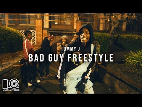 Tommy J - Bad Guy Freestyle - Shot By Mack Lawrence Films