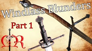 Windlass Blunders in Reproduction Design - Part 1