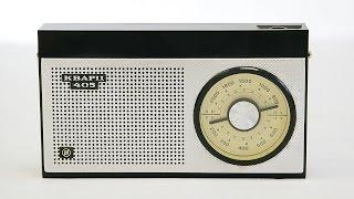 Обзор Радиоприемник Кварц 405 СССР 1974 год