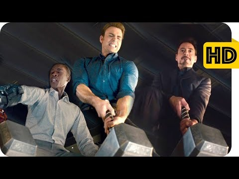 Avengers Age Of Ultron (2015) - Hammer Challenge Scene - Tamil Dubbed Movie CLIP HD