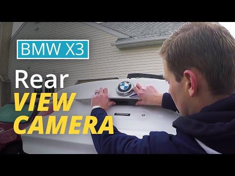BimmerTech MMI Rear View Camera installation in a BMW X3