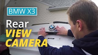 BimmerTech MMI Rear View Camera installation in a BMW X3 [WITH A SMALL RADIO ONLY]