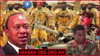Gen Cabaas Oo Hanjabaad Dagaal Culus U Diray Axmed Madoowe Iyo Dowlada Kenya,Xili......