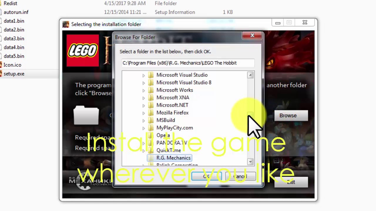 How to Download and Install//Lego:The Hobbit (2017)FREE__100%Works(NO  TORRENT OR SURVEYS)