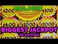 ALL-TIME RECORD! BIGGEST HANDPAY JACKPOT on YouTube for NEW High Limit Dragon Link!