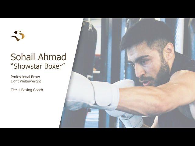 BRITISH AFGHAN BOXER  WINNING AGAINST THE ODDS    -INSPIRATIONAL MUSLIMS - SOHAIL AHMAD - E-07
