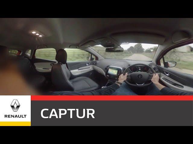 360 Test Drive- Renault CAPTUR | Renault