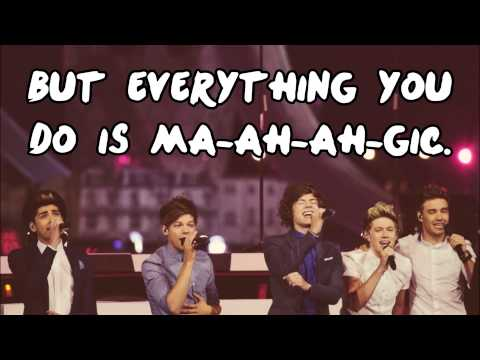 One Direction  Magic Lyrics + Pictures + Download Link