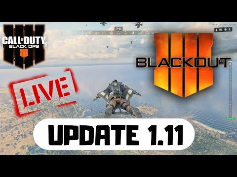 Call of Duty: Black Ops 4 - Update 1.11 Blackout loot fix (battle royale gameplay)