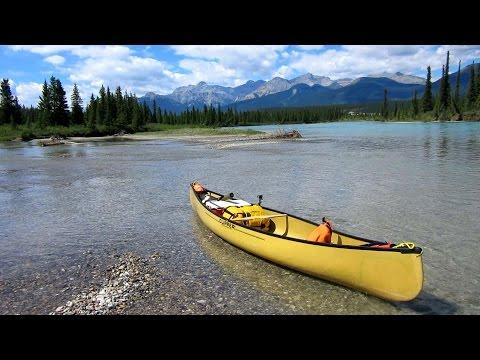North Saskatchewan River Canoe Trip - Bighorn Dam To Rocky Mountain House - Day 1