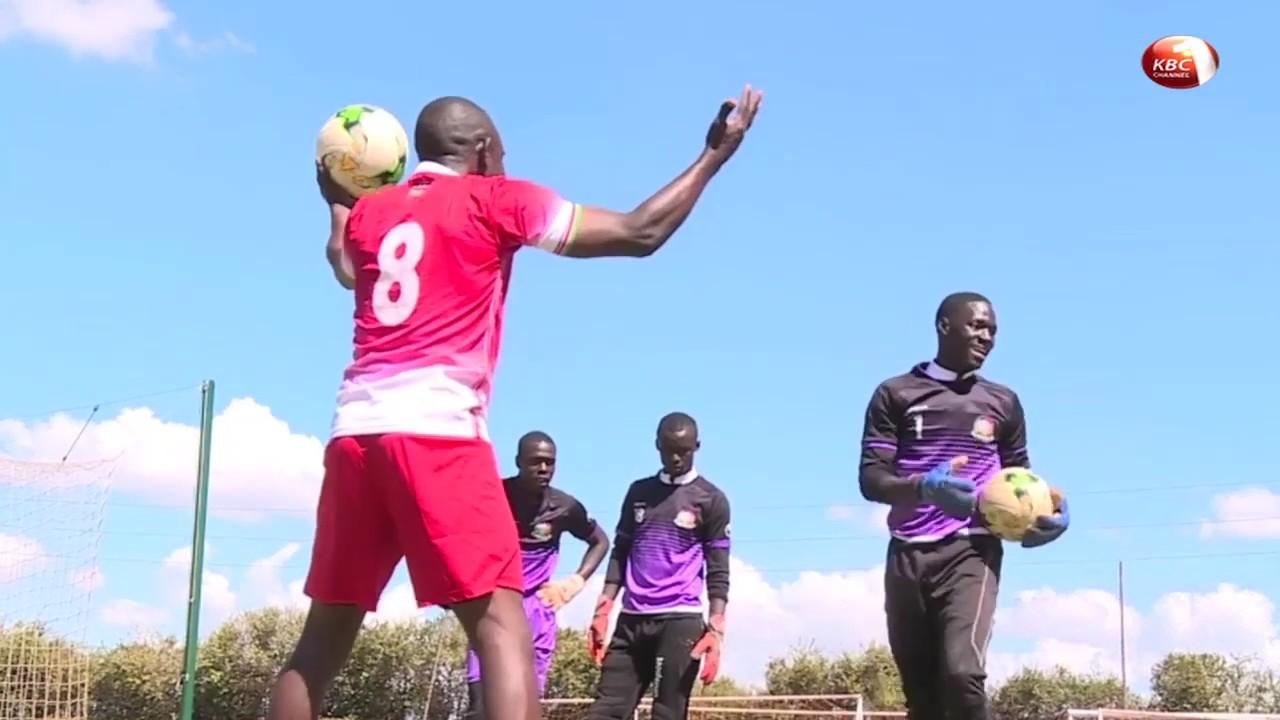 Kenya U17 national soccer team steps up training