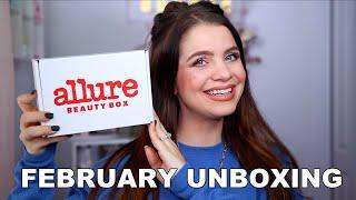 FEBRUARY ALLURE BEAUTY BOX UNBOXING 2021