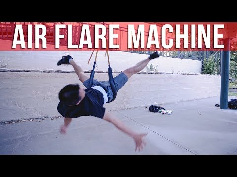 Using A G-Force Air Flare Machine