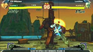 SSF4: STA Willpower vs LunchBox - LOST IN SPACE 003
